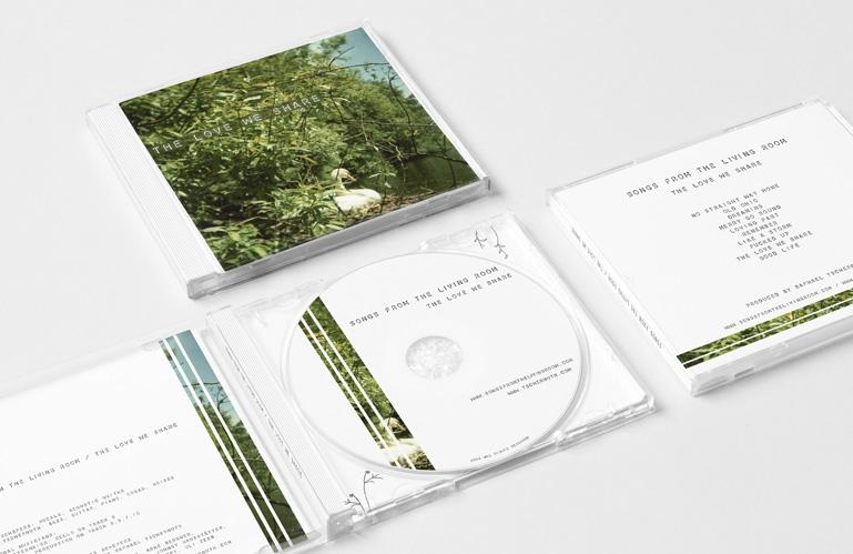 Cd pochette d'album Songs from the living room