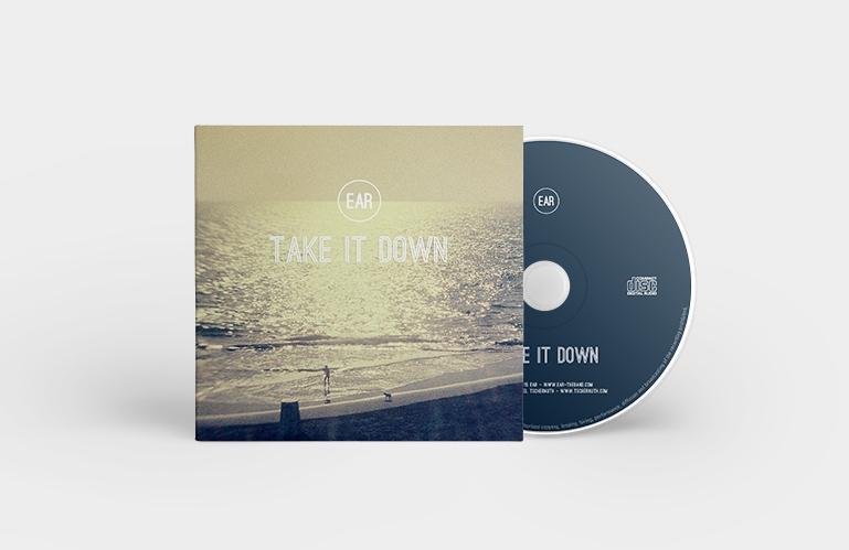 Création pochette pour CD single de Ear