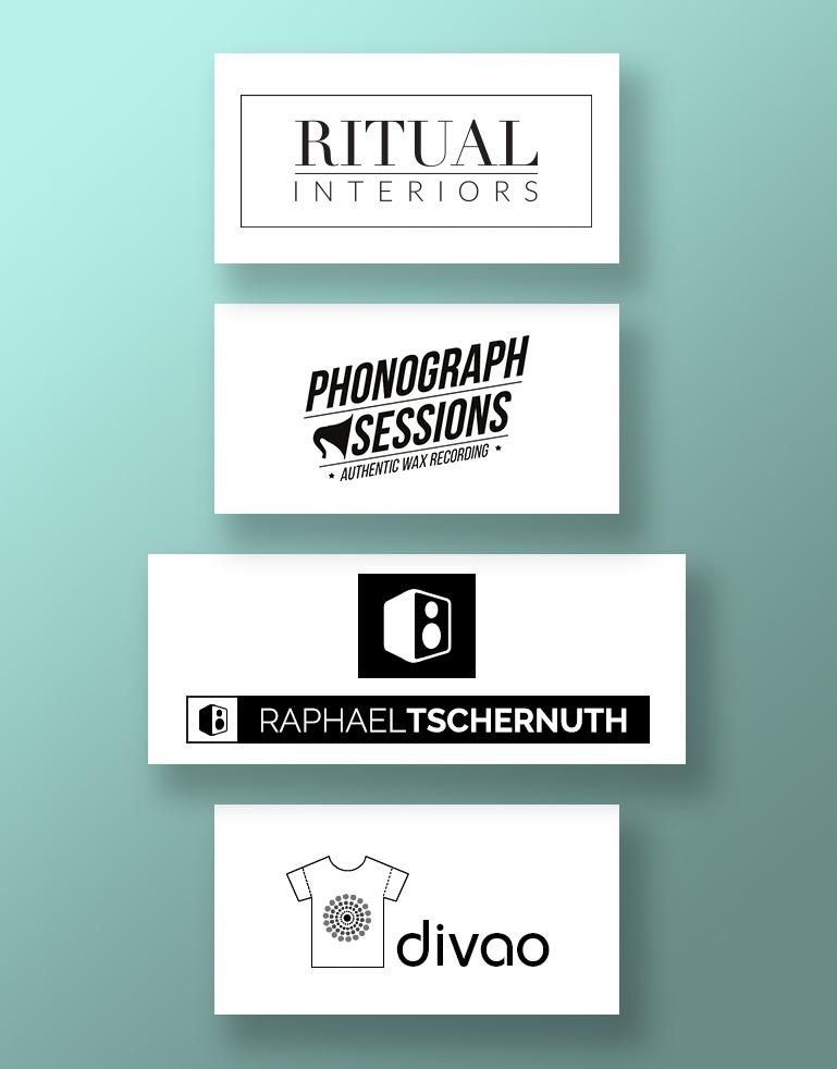 Logos identité visuelle graphiste freelance