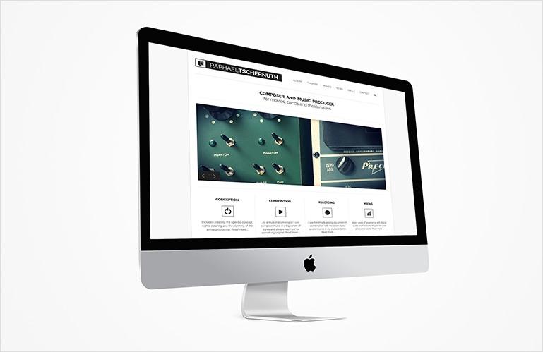 identité visuelle site Tschernuth.com