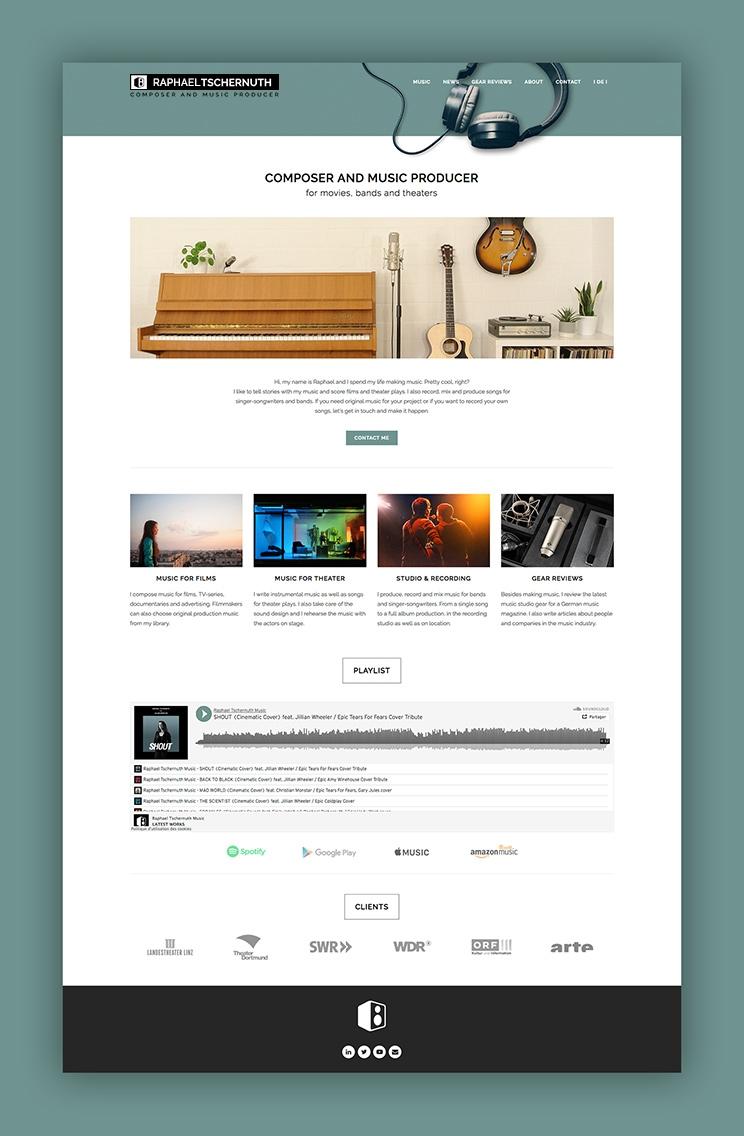 Site internet wordpress Tschernuth.com