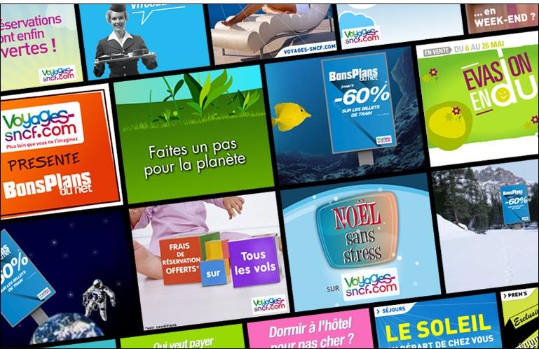 Campagnes de publicité digitales pour Voyages-SNCF.com