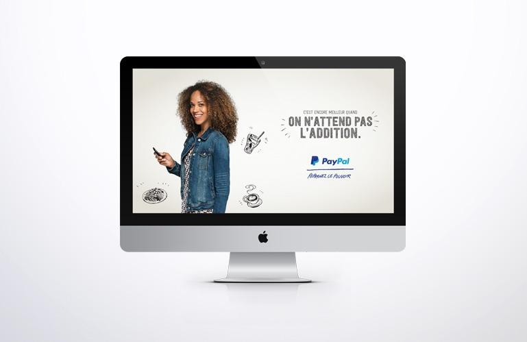 Création graphique pour campagne online Paypal