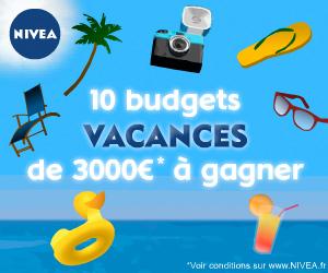 Publicité digitale HTML5 pour Nivea