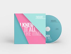 Création graphique pour pochette de CD