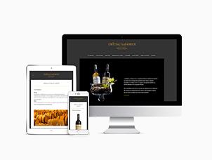 Création du site internet du Château Lafargue, vin de Pessac-Léognan