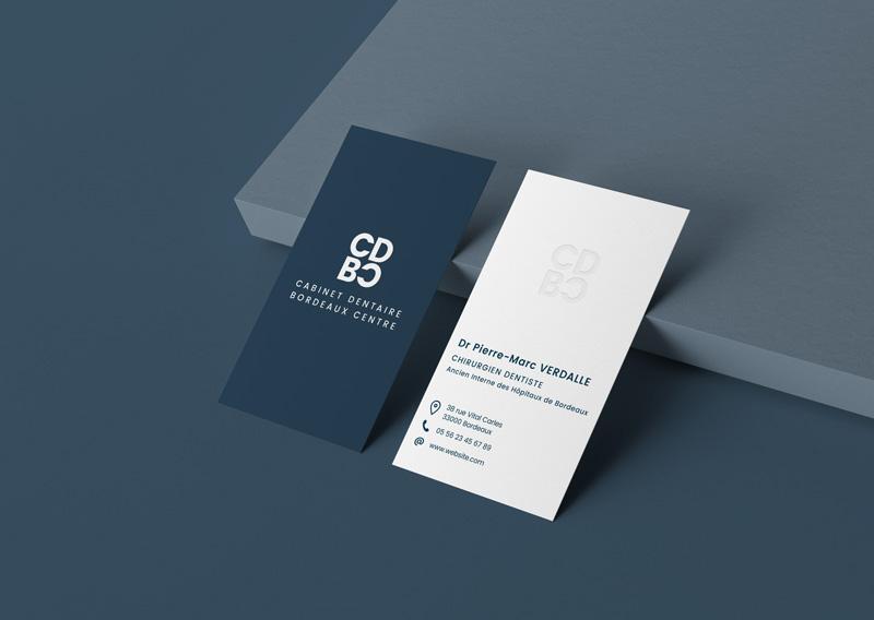 cartes de visite Cabinet dentaire Bordeaux centre